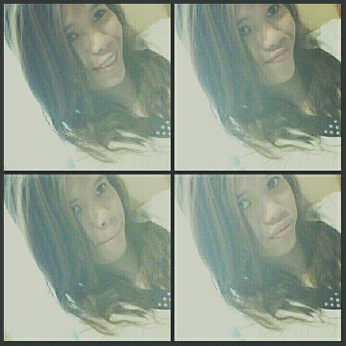 Selfie Fourpictures Emotions Smile Coloredhair Curlyhair Love Eyeem Philippines