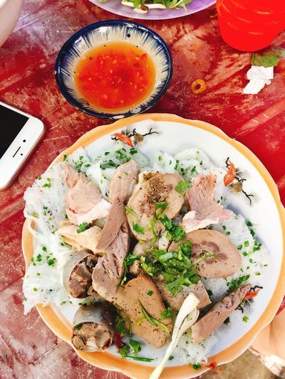 EyeEm Selects Vietnamese Food Healthy Eating Ready-to-eat Bánh Hỏi Lòng Heo QuyNhontrip MyTripMyAdventure Nuoc Mam Vietnamphotography Vietnam Trip Food Vothanhxuan