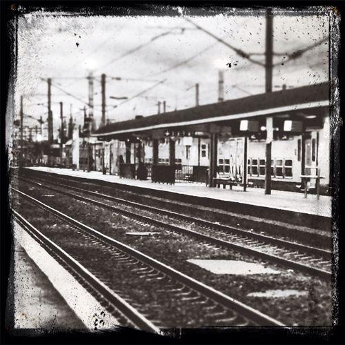 Un petit matin à la gare