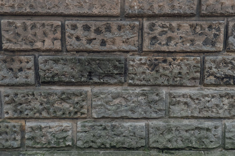 Fläche Oberfläche Architecture Backgrounds Building Exterior Built Structure Close-up Day Flächen Full Frame No People Outdoors Pattern Raster Stone Stone Material Stones Structure Textured  Wall - Building Feature