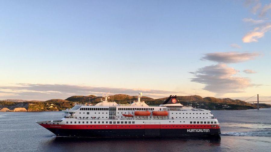 polarlyspanorama Hurtigruten Norway