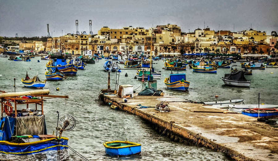 Maltaphotography Malta Travelphotography Travel Boats Fishing Boat Fishing Village Docks Blue Aquq Water Mediterranean  Sea Ronlouisphotos