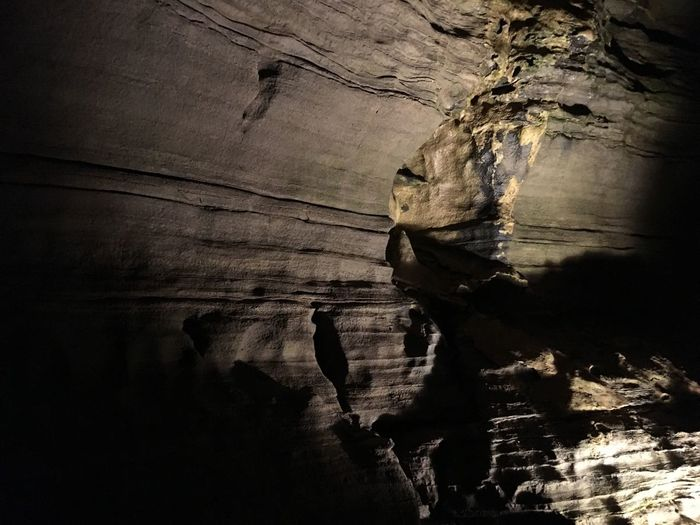 No People Nature Cave Rock Formation Outdoors Low Light Howe Caverns New York Geology Light And Shadow Beauty In Nature Rock - Object EyeEm Nature Lover