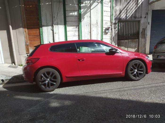 Crash Red Car