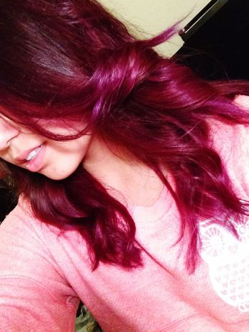 Purple Hair I Love It ❤
