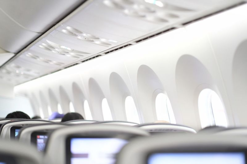 AirPlane ✈ Airplane Window Airplane Seat Flying Entertainment Monitor Travelphotography Traveling Travel Vacations Window Seat Technology Everywhere Seats Seat Airplane Interior Mode Of Transportation Transportation No People Travel Close-up Airplane Air Vehicle Selective Focus Public Transportation In A Row Window Technology Journey