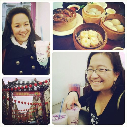 Cheeky trip to Chinatown!! Landaaaan Chinese Dimsum Bubbletea yummy