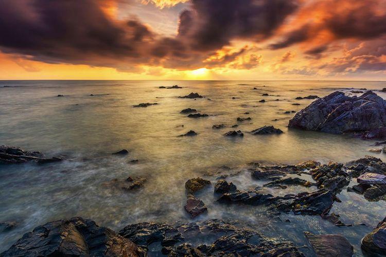 Rock Sunrise