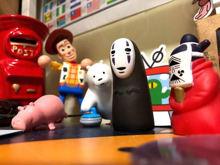 위비베어스 토이스토리 센과 치히로의 행방불명 EyeEm Selects Toy Representation Childhood Indoors  Human Representation Multi Colored Doll Close-up Large Group Of Objects Figurine  Art And Craft Variation