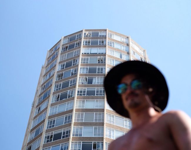 Urban exploration interrupted by swimming. Not so bad. 👌 Man Portrait Capetown South Africa