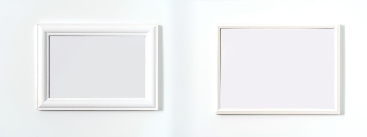 White wall in museum