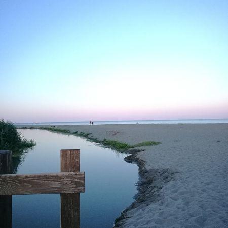 Enjoying The Sunset Relaxing Sea Blue Enjoying Life Colorful Sky Basilicata Tramonto Finding New Frontiers