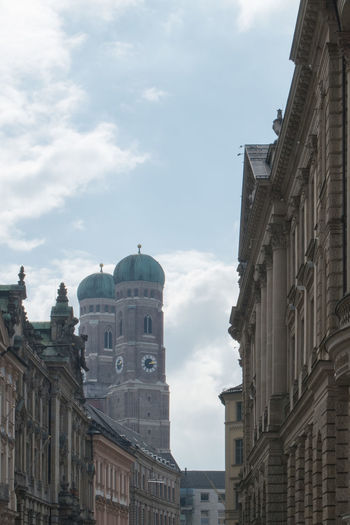 Architecture City Cityscape Frauenkirche Munich No People Outdoors Travel Destinations Urban Skyline