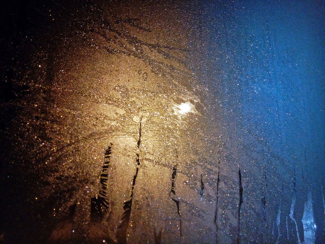 No People Close-up Backgrounds Full Frame Abstract Beauty In Nature Illuminated Night Silver  Glass Frost Patterns Ice Winter Natural Patterns Multicolor Shine Colour многоцветье Стекло морозные узоры природные узоры Beautiful Luminosity Star - Space Galaxy