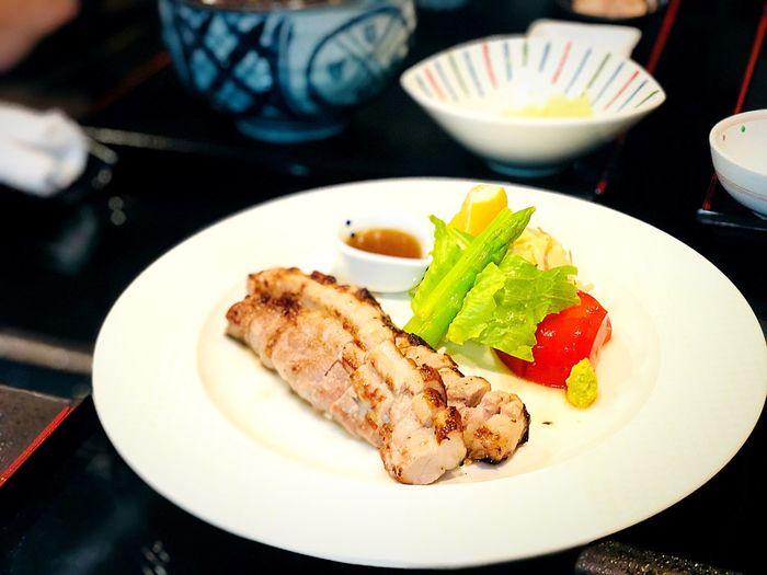 Grilled Pork,