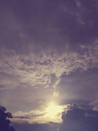 Everning Sky Sky Going Home
