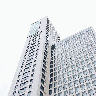 Architecture in Berlin Theskyisthelimit Whiteonwhite