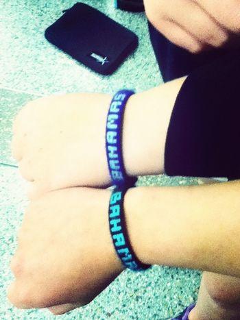Matching Bahamas Bracelets