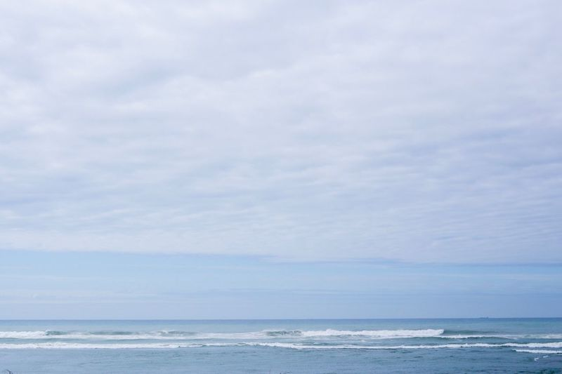 Sea Horizon Over Water Nature Beauty In Nature Scenics Tranquility Water Sky Tranquil Scene Outdoors No People Cloud - Sky Day Beach Wave