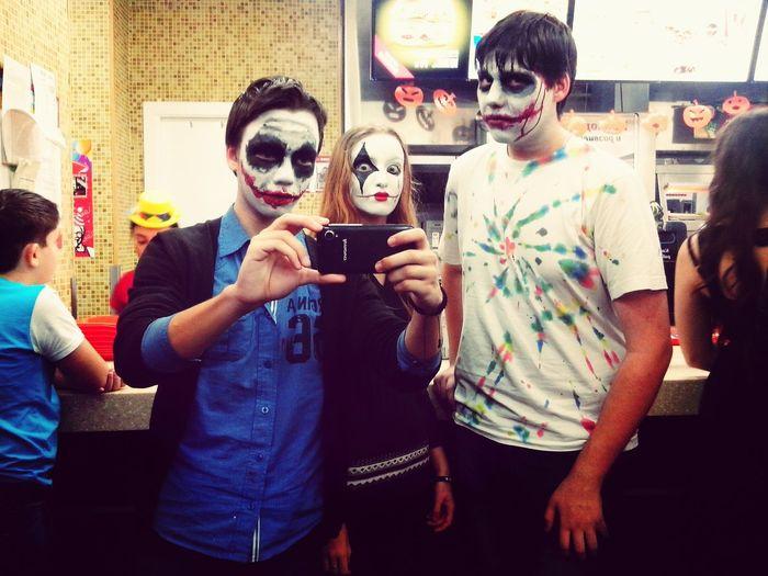 Halloween Friends Lovehalloween Гримм Jokers я и друзья друзья
