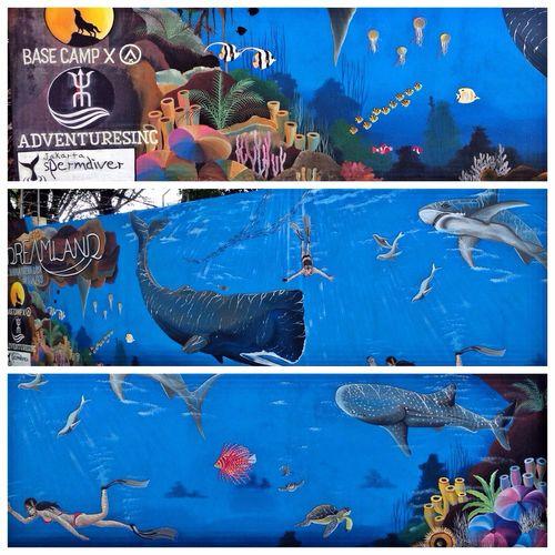 Street Art Mural Painting ArtWork