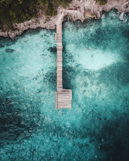 Beautiful Water Water Nature Day No People Sea Swimming Pool High Angle View Waterfront Beauty In Nature Outdoors Pool Scenics - Nature Turquoise Colored Motion Blue Green Color Built Structure Tranquility Architecture Power In Nature
