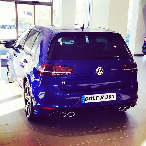 UN Rêve Volkswagen Golf7r R 300 Bleu #France Pasdecalais ?