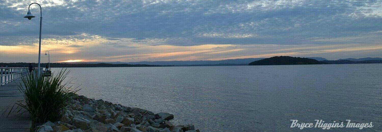 Landscape Sunset Lake View Panorama Panoramic Enjoying The View Great Views