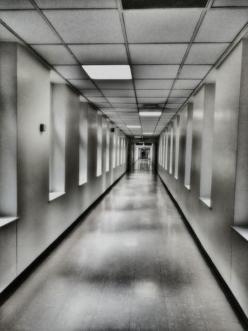 A Longwalk down a Hospital Corridor Architecture The Way Forward Indoors  Clean