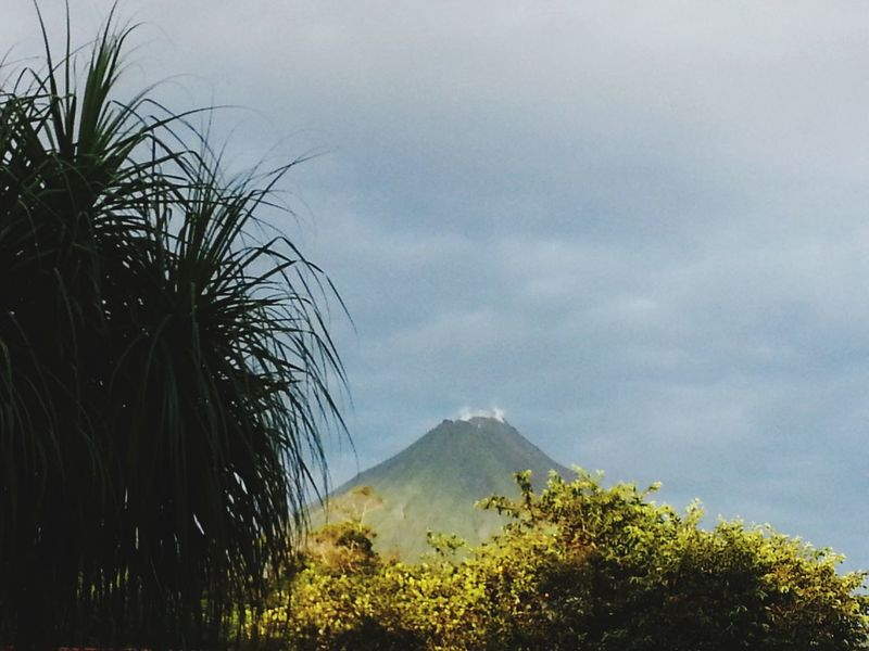 Costa Rica Volcano Arenal Volcano National Park Outdoors Landscape Nature