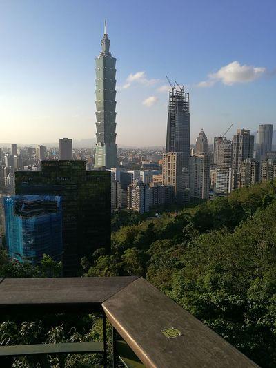 Taiwan Viewofthecity Taipei 101 Holidays ☀