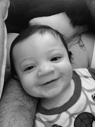 Looking At Camera Portrait Innocence Real People Cute Childhood Baby Close-up Happiness Headshot Babyhood Smiling Indoors  Togetherness Day Welcomeweekly Fresh On Eyeem  The Weekly Eyeem Weekly Eyeem Weeklyphoto Babyboy Baby ❤ Myson #myworld #mylife❤❤❤ MySonMyLoveMyEverything Family