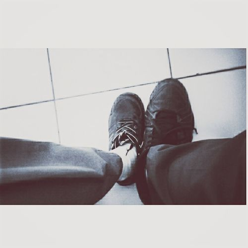 We're a shoes,always together but can't be 'us'.