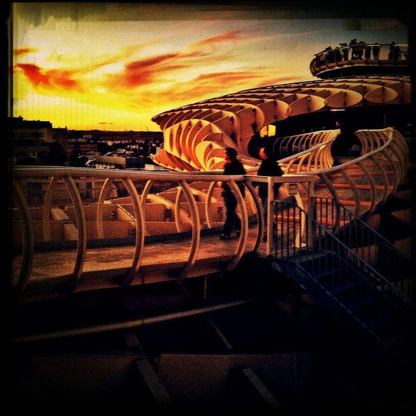sunset at Sevilla Sunset