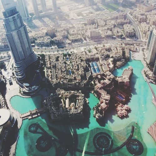 at the top of burj khlifa??
