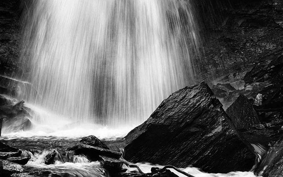 Webwood falls https://goo.gl/ns8P7T Reimerpics Blackandwhite Water Landscape Waterfall Ontario Photo Webwoodfalls