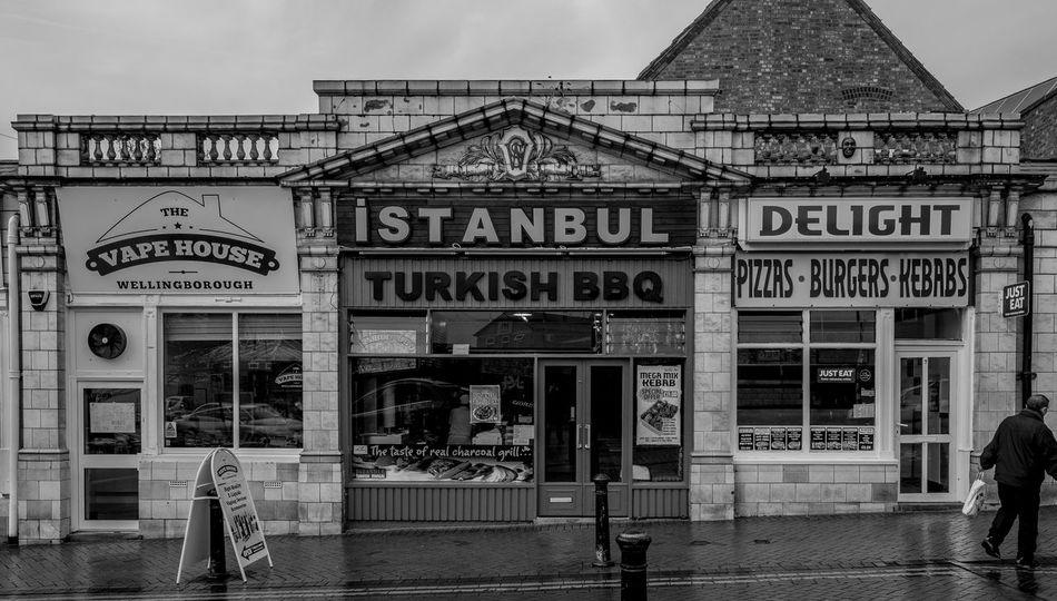 Istanbul, Cannon Street, Wellingborough, Northamptonshire wellingborough Street Wellingborough Northamptonshire Urban Monochrome Black And White Monochrome Photography Town FUJIFILM X-T2 Istanbul