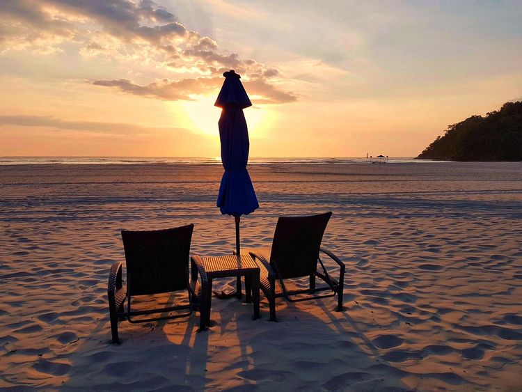 Pantai Dalit sunset Malaysia Travel Amazing Destination Caroline Majanil Sabah Beautiful Outdoors Island Living Tourist Destination Travel Photography Sabah, Malaysia Borneo Sea Water Sky Beach Sunset Land Nature Tranquility Holiday Vacations Trip Beauty In Nature Seat Summer Relaxation Sun Idyllic