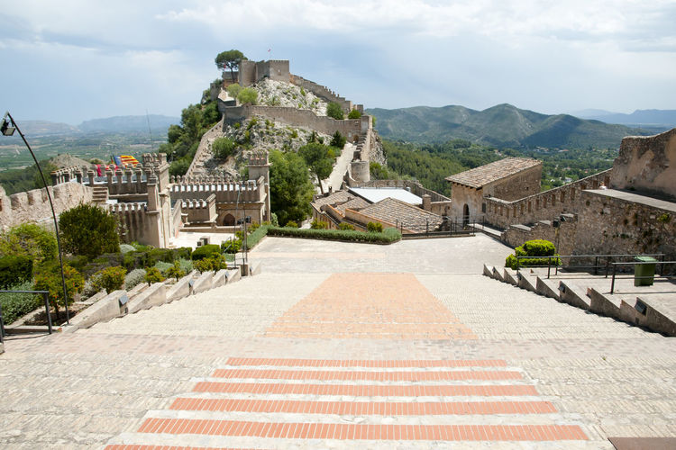 Castle of Xativa Castle SPAIN España Ruin Xativa