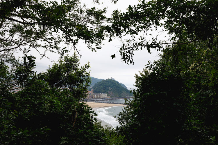 San Sebastian Coastline Nature SPAIN Travel Beach Beauty In Nature Day Green Color Growth Lake Landscape Mountain Nature No People Non-urban Scene Ocean Outdoors Plant Scenics - Nature Sky Tranquil Scene Tranquility Travel Destinations Tree Water The Great Outdoors - 2018 EyeEm Awards