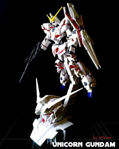 Unicorn Gundam by P4lsoe