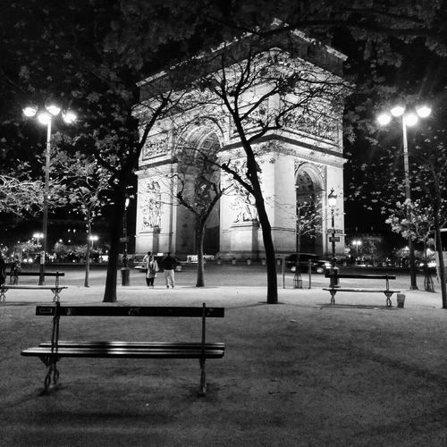 Arc De Triomphe, Paris Architecture Aword Black And White Champs-Elysée Light Love Lumière Mariage Night Noir & Blanc  Paris Prize Shadow Winner équilibre
