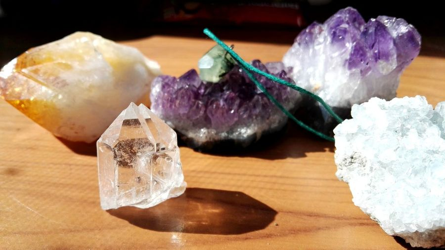 Stone Crystal Crystal Kriatal Stone Necklace