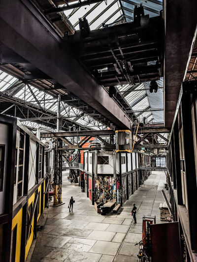 NDSM gallery Urban Exploration Architectural Column Architecture Built Structure City Factory Incidental People Indoors  Real People Transportation Urban Warehouse The Architect - 2018 EyeEm Awards Summer Road Tripping The Street Photographer - 2018 EyeEm Awards #urbanana: The Urban Playground