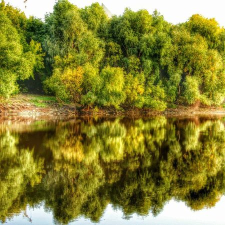 омск сибирь лето река омь отражение кэнон Omsk Siberia Summer River Mirror CanonA550 HDR Lategram