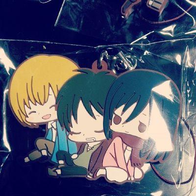 これが欲しくて買いました(*-) Snk Aot Shiganshina Eren mikasa armin