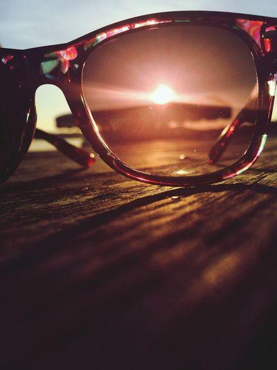 Sunglasses Sun Pretty Sunset