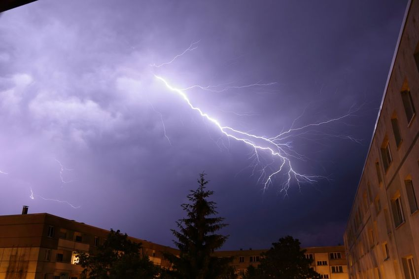 Verblitzt nochmal 😉😂 Schwerin Natur Gewitter Blitze