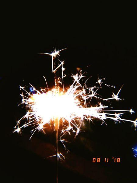 Black Background Arts Culture And Entertainment Celebration Firework - Man Made Object Firework Display Sparkler Event Text Close-up Diwali Sparks Glowing Burning Firework