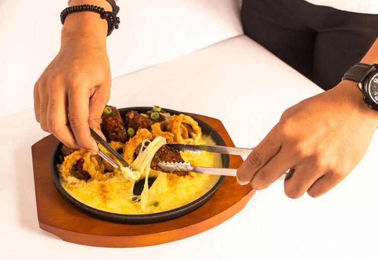 Human Hand Food